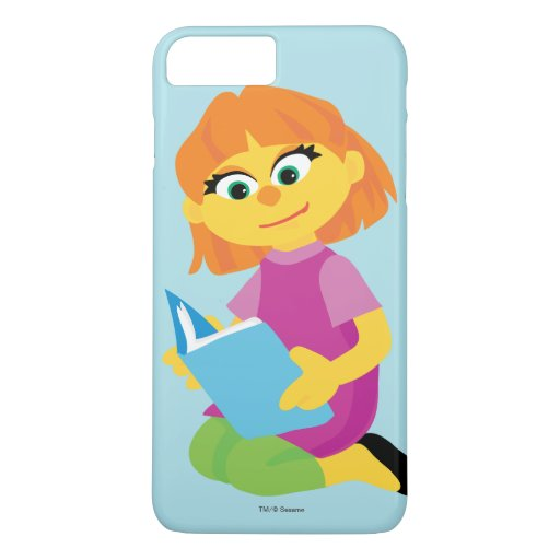 Sesame Street | Julia Reading a Book iPhone 8 Plus/7 Plus Case