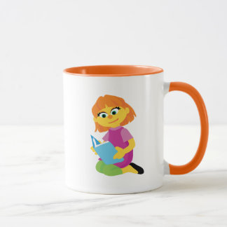 Sesame Street | Julia Reading a Book Mug