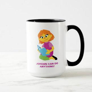 Sesame Street   Julia Reading a Book Mug