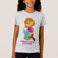 Sesame Street   Julia Reading a Book T-Shirt