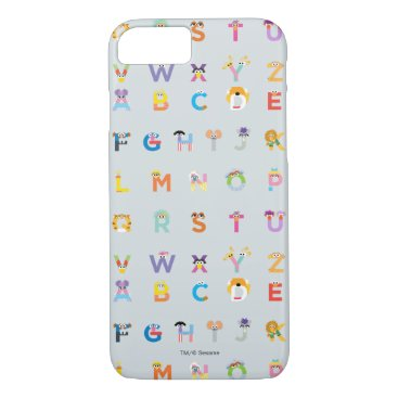 Sesame Street | Letters of the Alphabet iPhone 8/7 Case