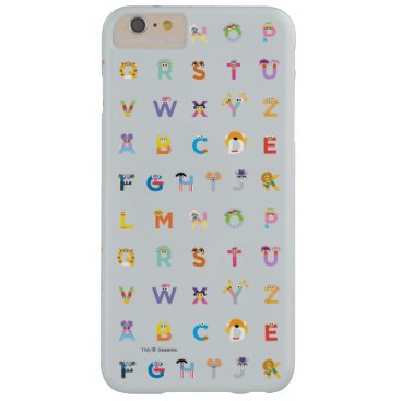 Sesame Street | Letters of the Alphabet Barely There iPhone 6 Plus Case