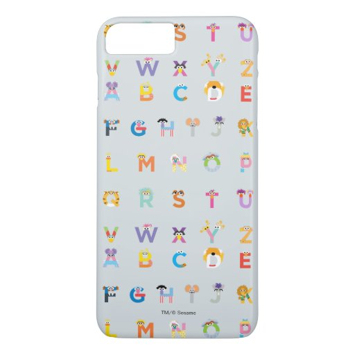 Sesame Street | Letters of the Alphabet iPhone 8 Plus/7 Plus Case