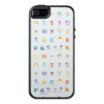 Sesame Street | Letters of the Alphabet OtterBox iPhone 5/5s/SE Case