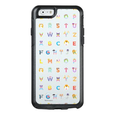 Sesame Street | Letters of the Alphabet OtterBox iPhone 6/6s Case