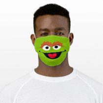 Sesame Street Oscar the Grouch Face Adult Cloth Face Mask