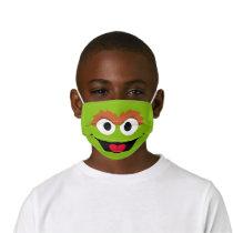 Sesame Street Oscar the Grouch Face Kids' Cloth Face Mask