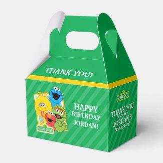 Sesame Street Pals Birthday Favor Box