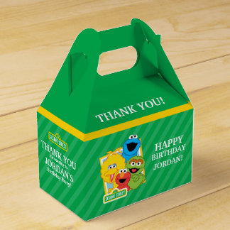 Sesame Street Pals Birthday Party Favor Box