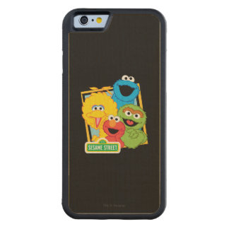 Sesame Street Pals Carved Maple iPhone 6 Bumper Case
