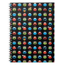 Sesame Street Pals Emoji Pattern Notebook