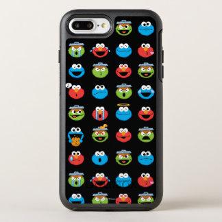 Sesame Street Pals Emoji Pattern OtterBox Symmetry iPhone 7 Plus Case