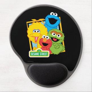 Sesame Street Pals Gel Mouse Pad