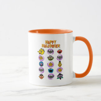 Sesame Street Pals - Happy Halloween! Mug