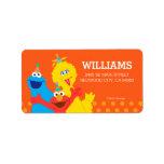 "Sesame Street Pals Label<br><div class=""desc"">Customize this cute Sesame Street address label with your name and address. &#169; 2017 Sesame Workshop. www.sesamestreet.org</div>"