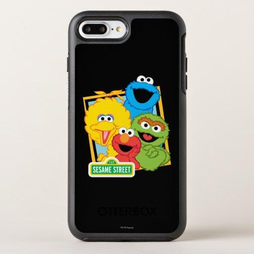 Sesame Street Pals OtterBox Symmetry iPhone 8 Plus/7 Plus Case