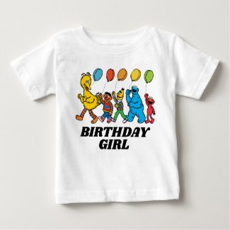 Sesame Street Pals | Party Balloons Baby T-Shirt
