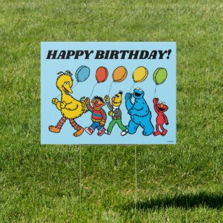 Sesame Street Pals | Party Balloons Sign