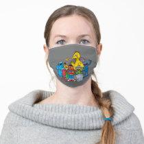 Sesame Street Pals Waving Adult Cloth Face Mask
