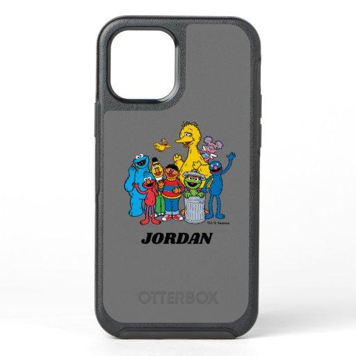 Sesame Street Pals Waving OtterBox Symmetry iPhone 12 Case