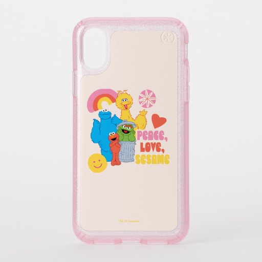 Sesame Street | Peace, Love, Sesame Speck iPhone X Case