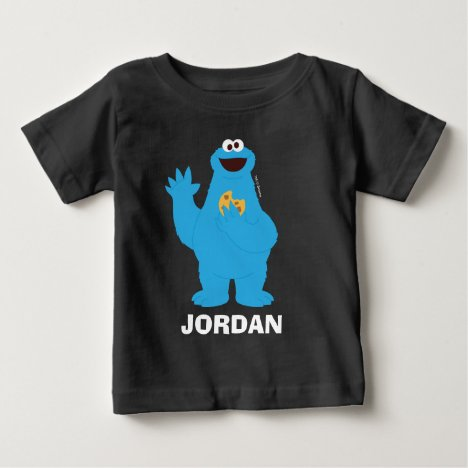 Sesame Street | Personalized Cookie Monster Baby T-Shirt