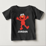 """Sesame Street   Personalized Elmo Baby T-Shirt<br><div class=""""desc"""">Personalize this cute Elmo T-Shirt with your child's name.</div>"""