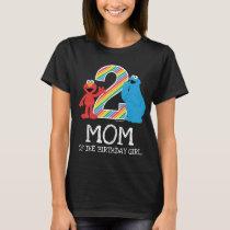 Sesame Street Rainbow 2nd Birthday | Mom T-Shirt