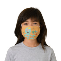 Sesame Street   Rosita Playing Guitar Kids' Cloth Face Mask