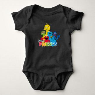 Sesame Street | Sesame Friends Baby Bodysuit