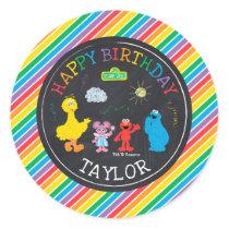 Sesame Street | Sesame Friends Classic Round Sticker