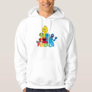 Sesame Street   Sesame Friends Hoodie