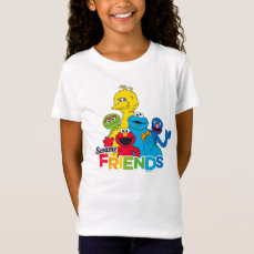 Sesame Street   Sesame Friends T-Shirt