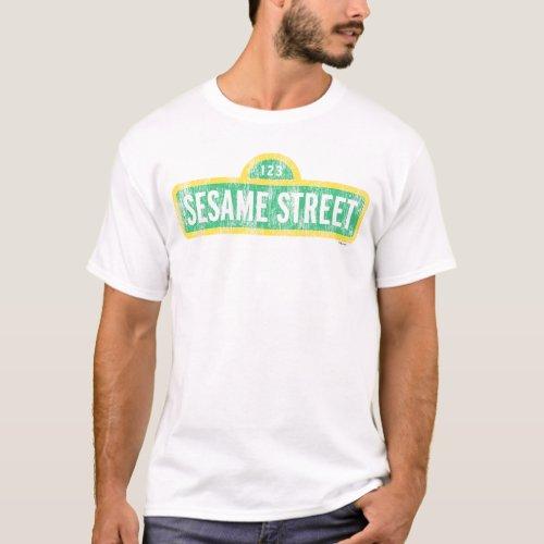 Sesame Street Sign T_Shirt