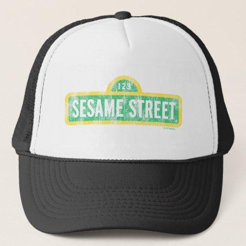 Sesame Street Sign Trucker Hat