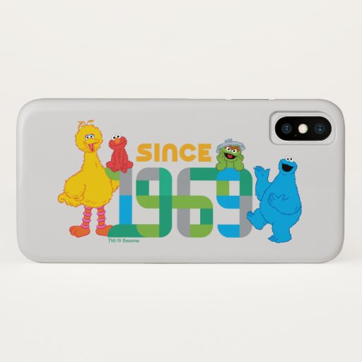 Sesame Street | Since 1969 iPhone X Case