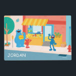 "Sesame Street | Street Scene Placemat<br><div class=""desc"">Decorate your child&#39;s room with this Sesame Street Scene featuring Cookie Monster,  Elmo &amp; Grover.</div>"