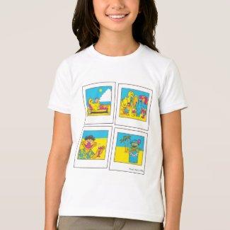 Sesame Street | Summer Vibes Polaroids T-Shirt