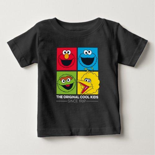Sesame Street  The Original Cool Kids Baby T_Shirt