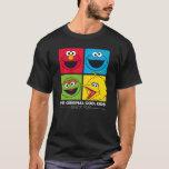 "Sesame Street | The Original Cool Kids T-Shirt<br><div class=""desc"">Elmo,  Cookie Monster,  Oscar the Grouch,  Big Bird in a bright,  squared design. | &#169; 2017 Sesame Workshop. www.sesamestreet.org</div>"