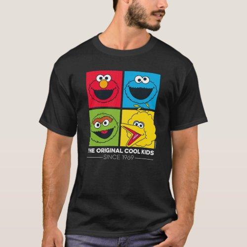 Sesame Street  The Original Cool Kids T_Shirt
