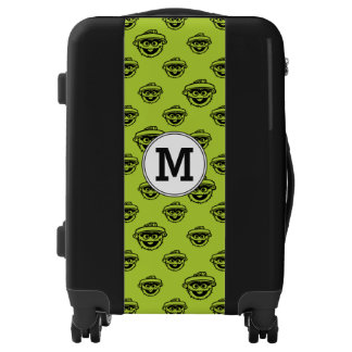 Sesame Street Tropical Pattern | Monogram Luggage