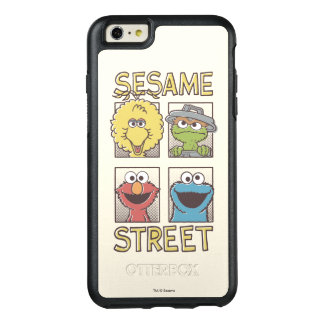 Sesame StreetVintage Character Comic OtterBox iPhone 6/6s Plus Case