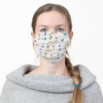 Sesame StreetVintage Comic Pattern Adult Cloth Face Mask