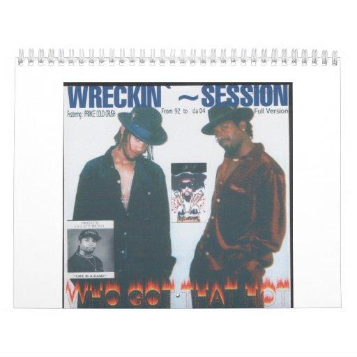 Sesión de Wreckin Calendarios