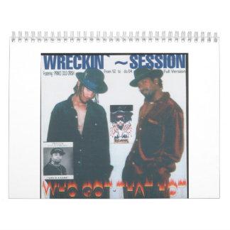 Sesión de Wreckin Calendario
