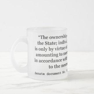 Sesión del 73 o congreso del documento no 43 del tazas de café