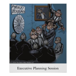 Sesión ejecutiva del planeamiento posters