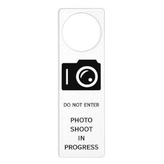 Sesión fotográfica colgador para puerta