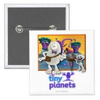 Sesión minúscula de Jammin de los planetas Pin Cuadrado